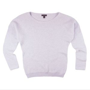 JCREW Heather Purple Pullover Sweater